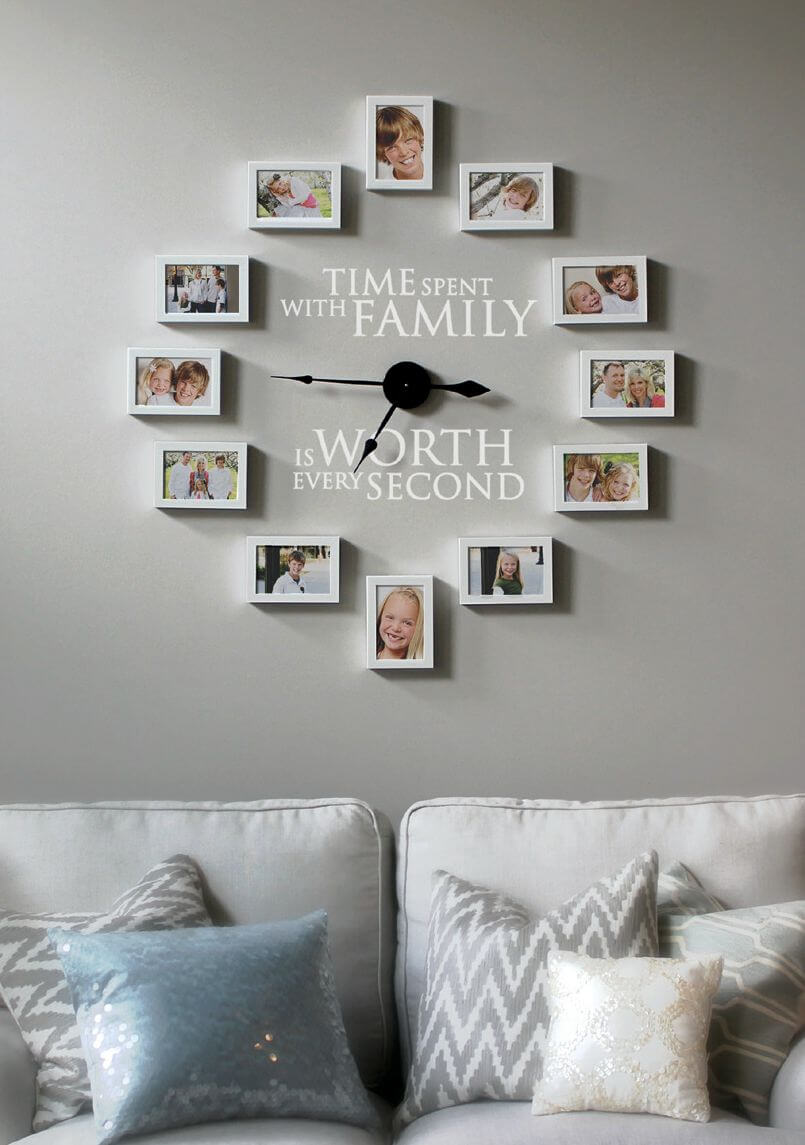 Time Spent with Family Photo Montage