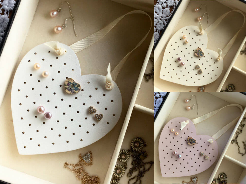 Cute Jewelry Box Organizer for Stud Earrings