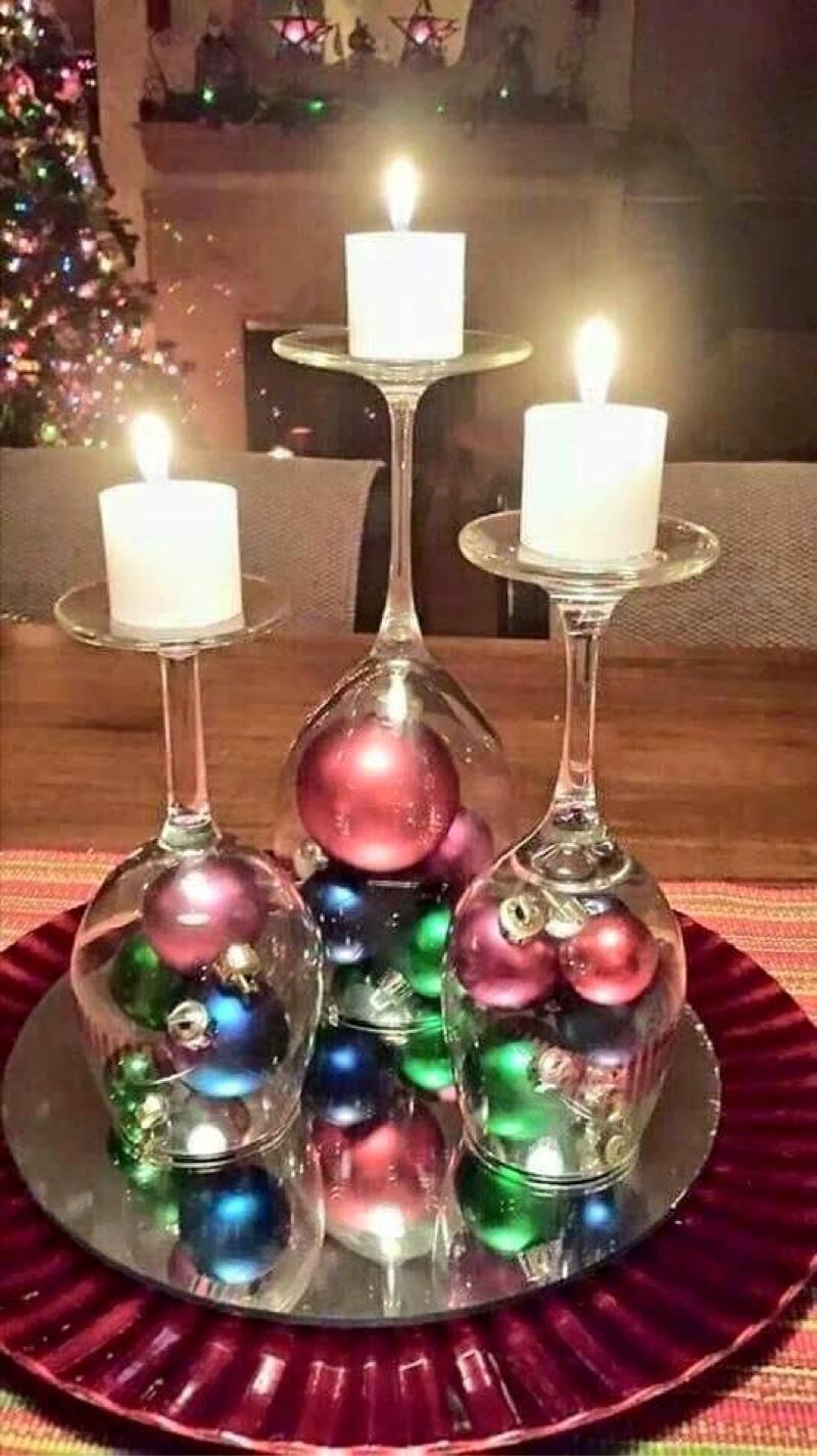 Candelabra of Christmas Joy
