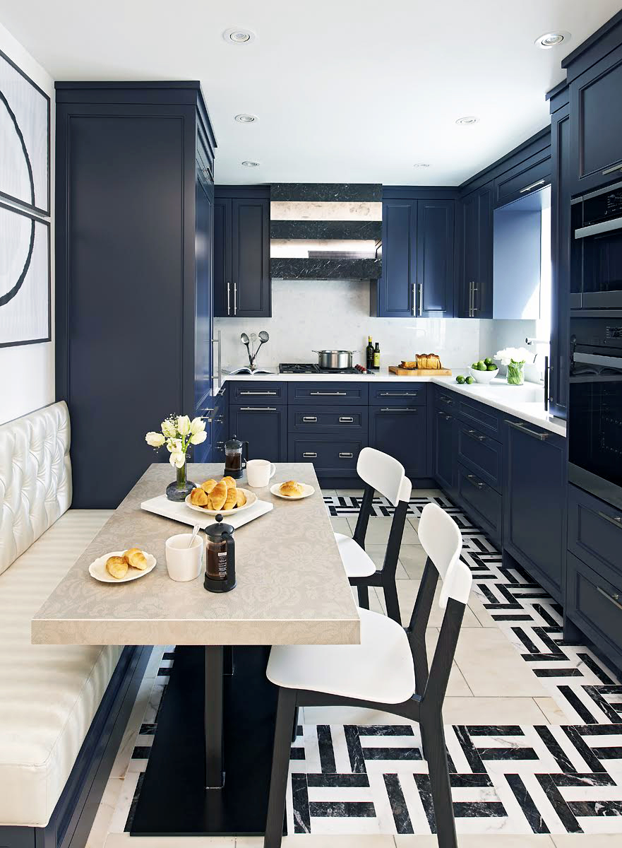 Kitchen Design Picture of Mixing Materials Makes Magic