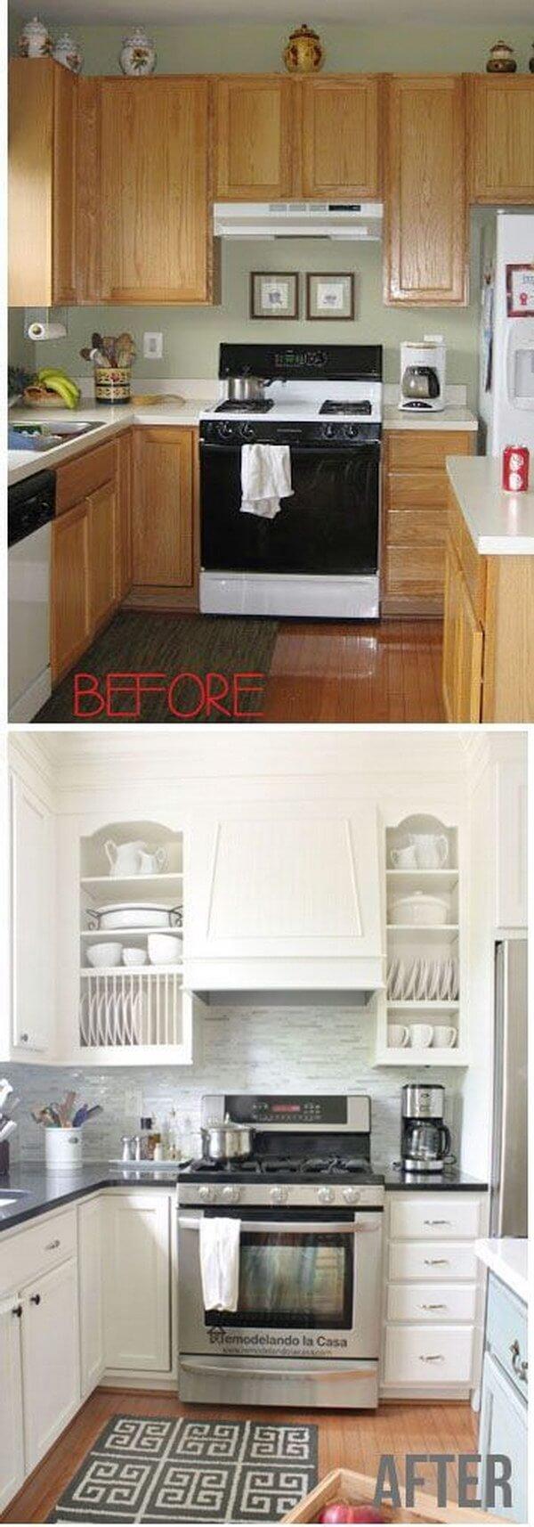 A Bright, Open Cabinet Design