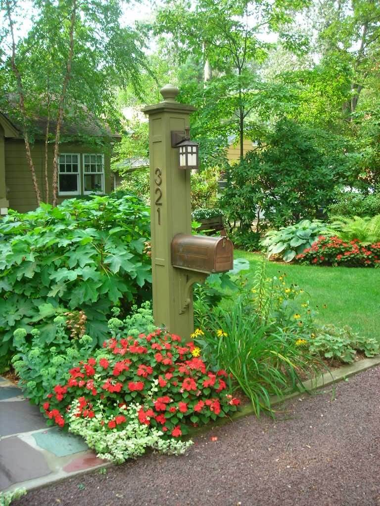 Mission Style Copper Mailbox Ideas