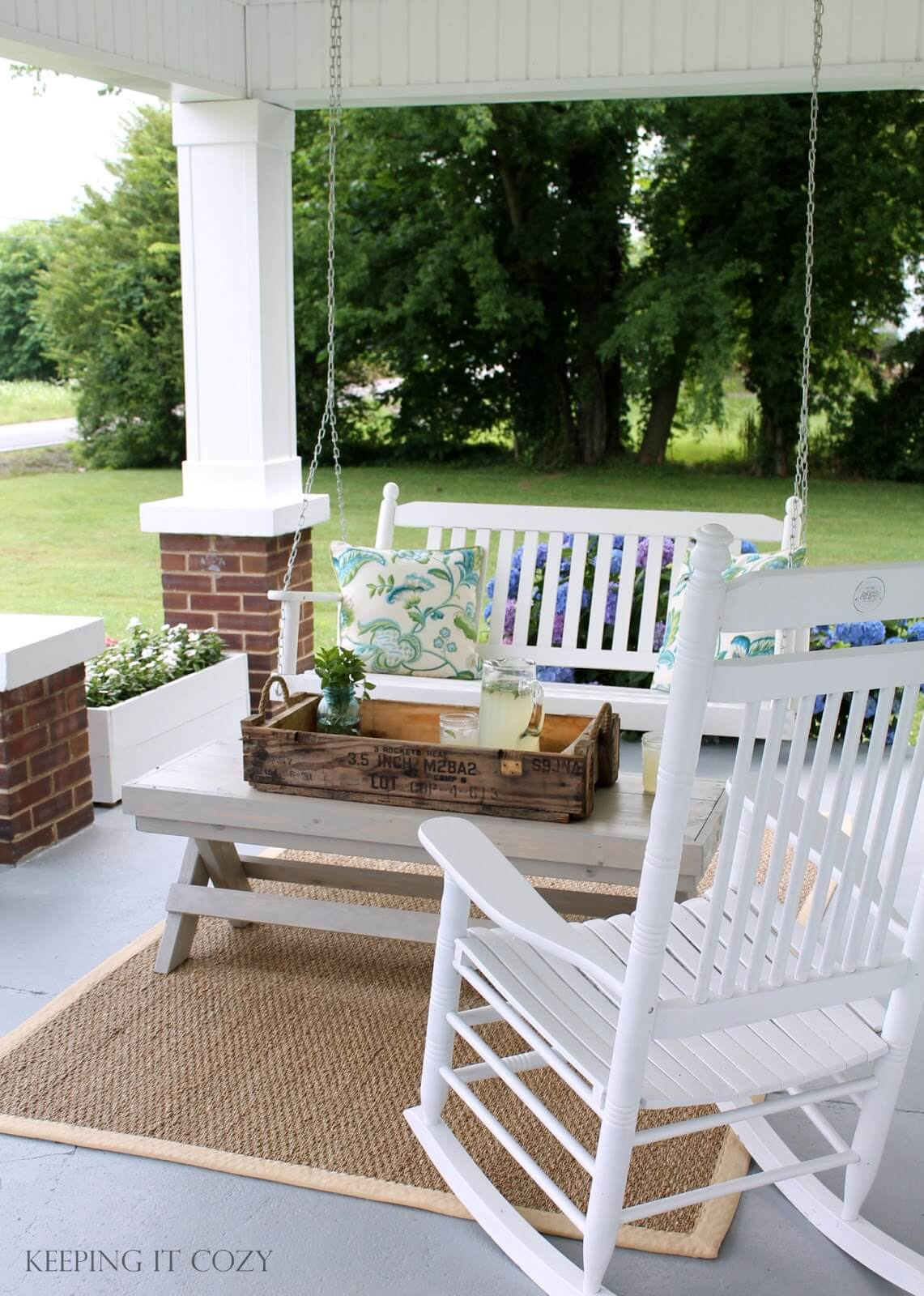 Flower Boxes and Country Furniture