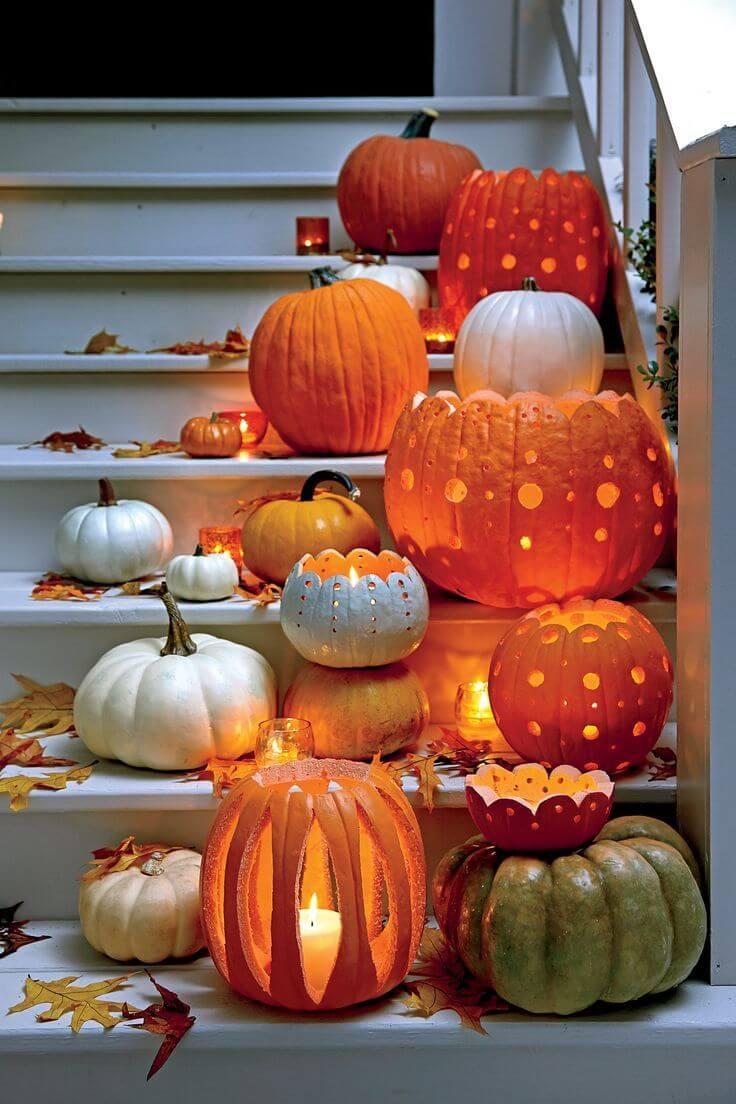 Open Top Pumpkin