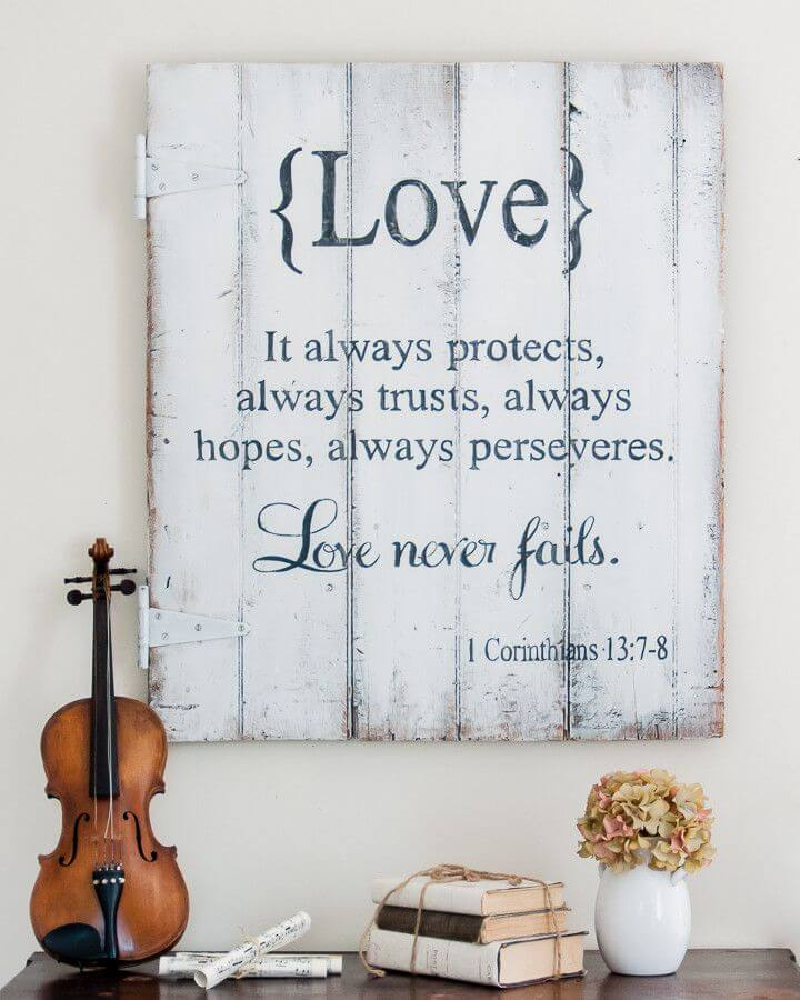 Love Never Fails Corinthians Quote