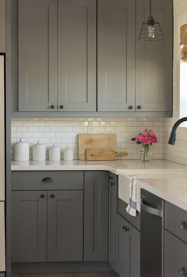 Gray is a Perfectly Modern Match with White