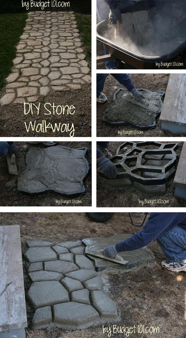 Road To Rome Stone Walkway