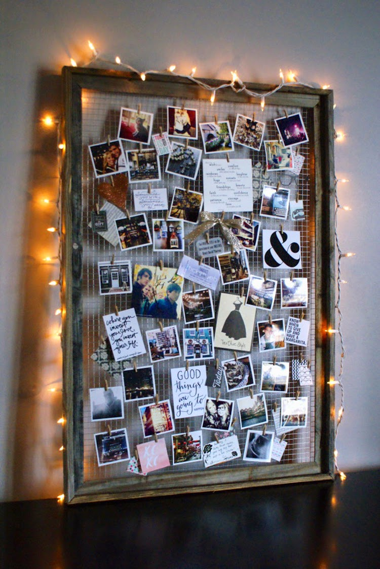 String Light Frame