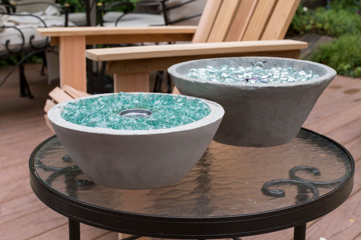Create a Fire Bowl from Anything