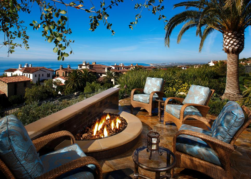 Enjoy the Fire and the View