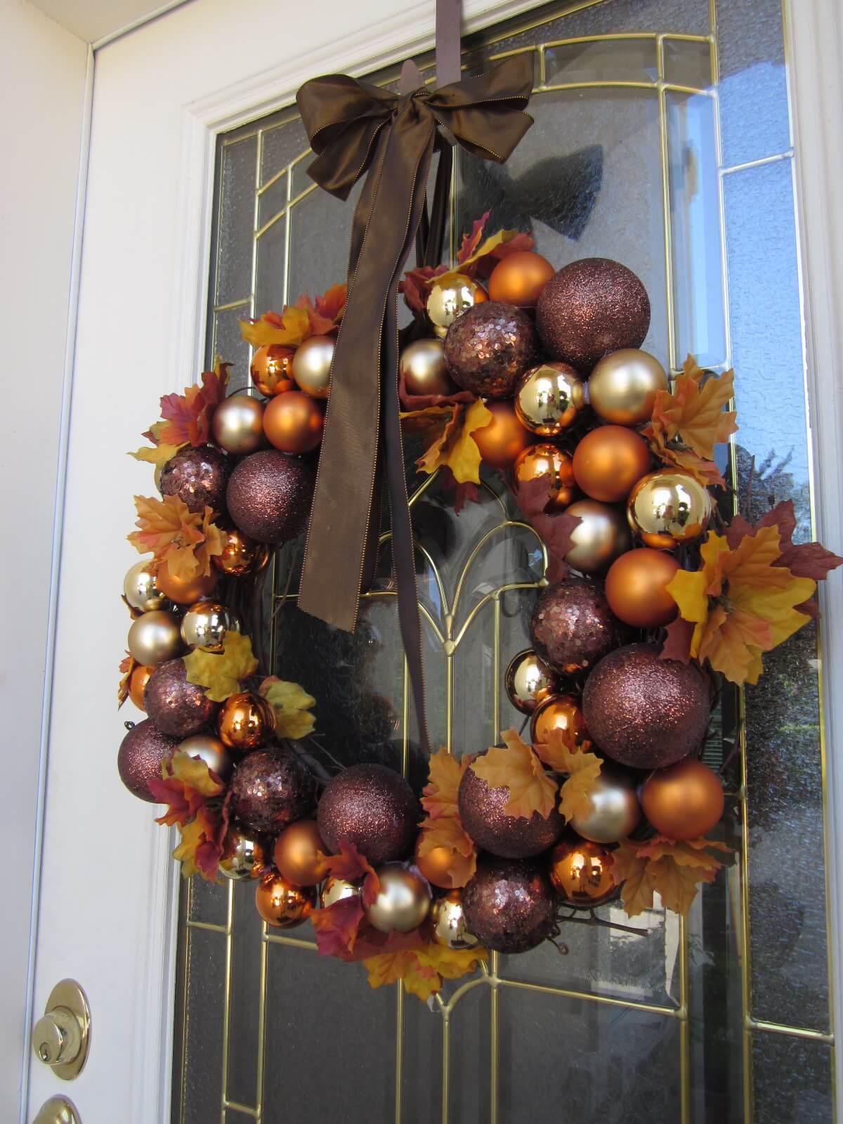 Fall Glow of Ornamental Colors