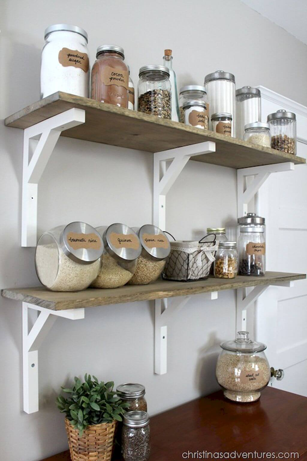 Easy Dry Goods Shelves