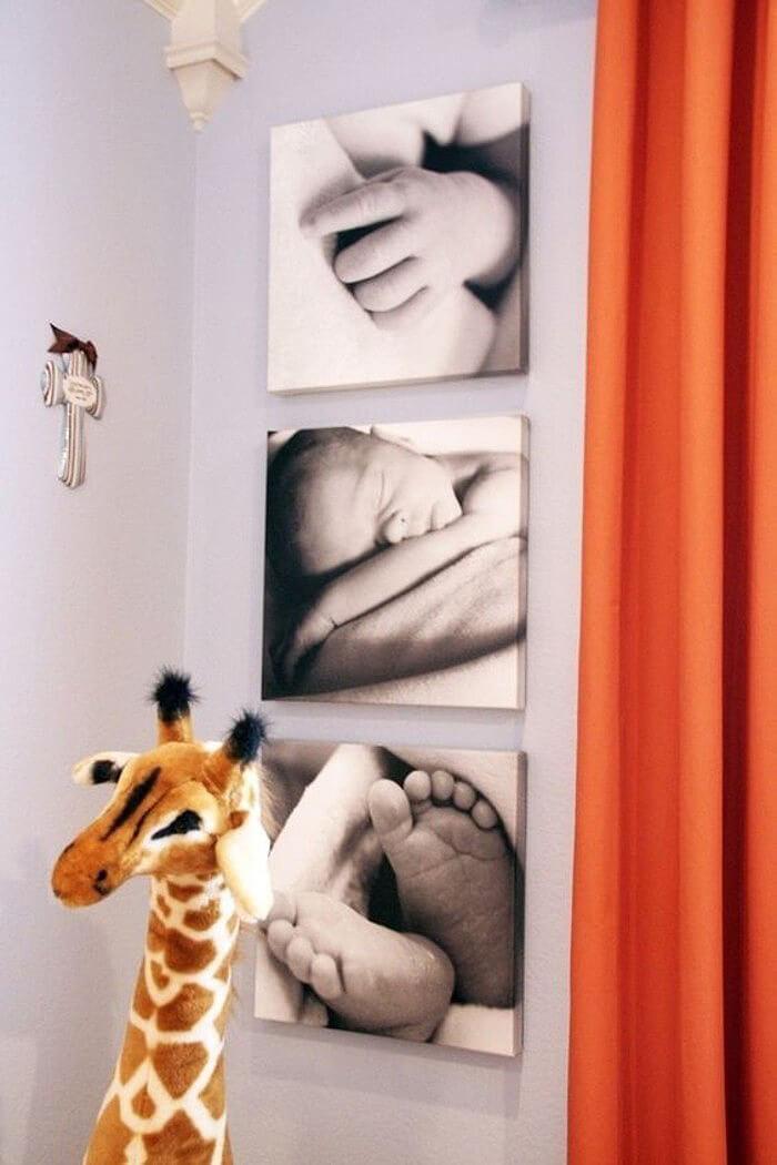 Artsy Newborn Photos Add Pop