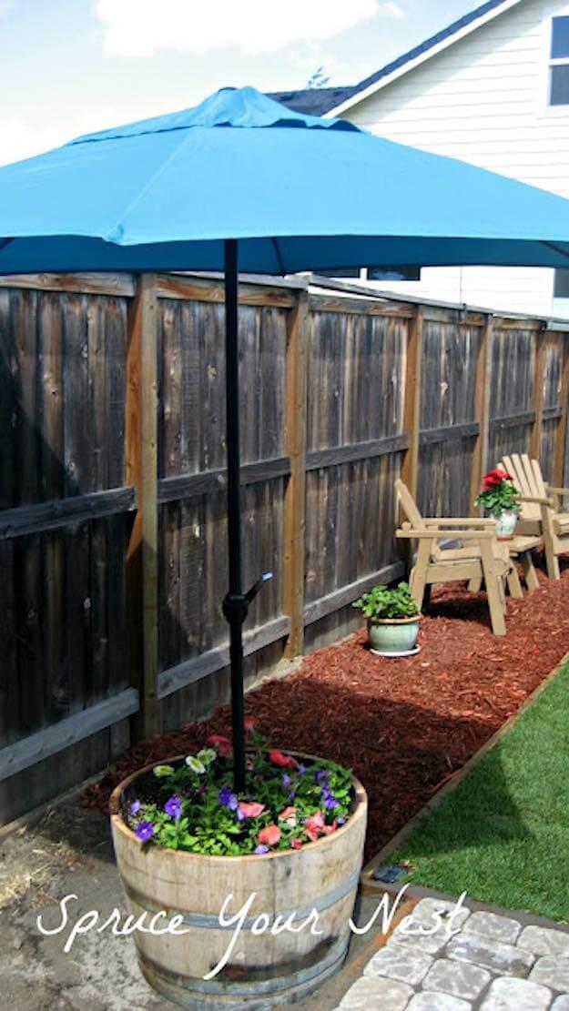 Instant Shade Backyard Umbrella Stand