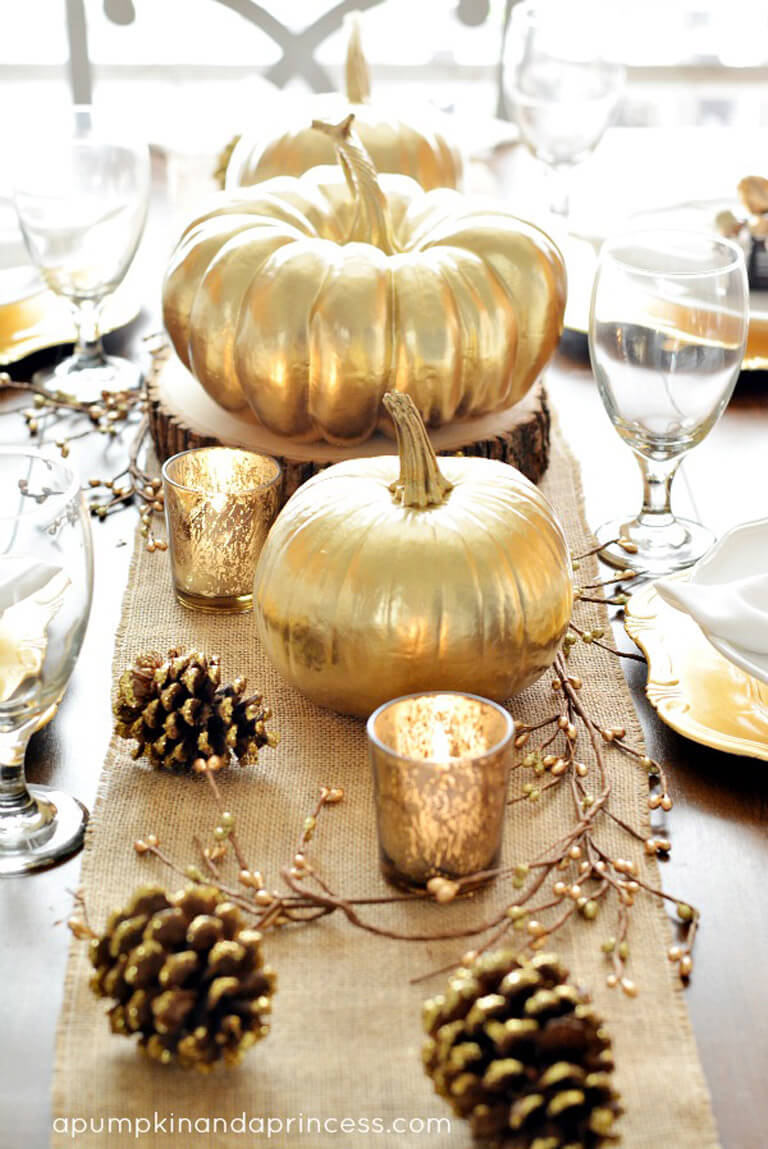 Classic Gold with an Autumn Twist