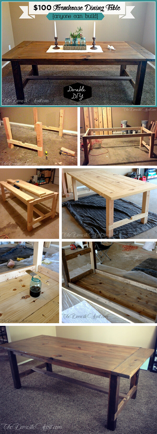 Country Dining Furniture on a Budget