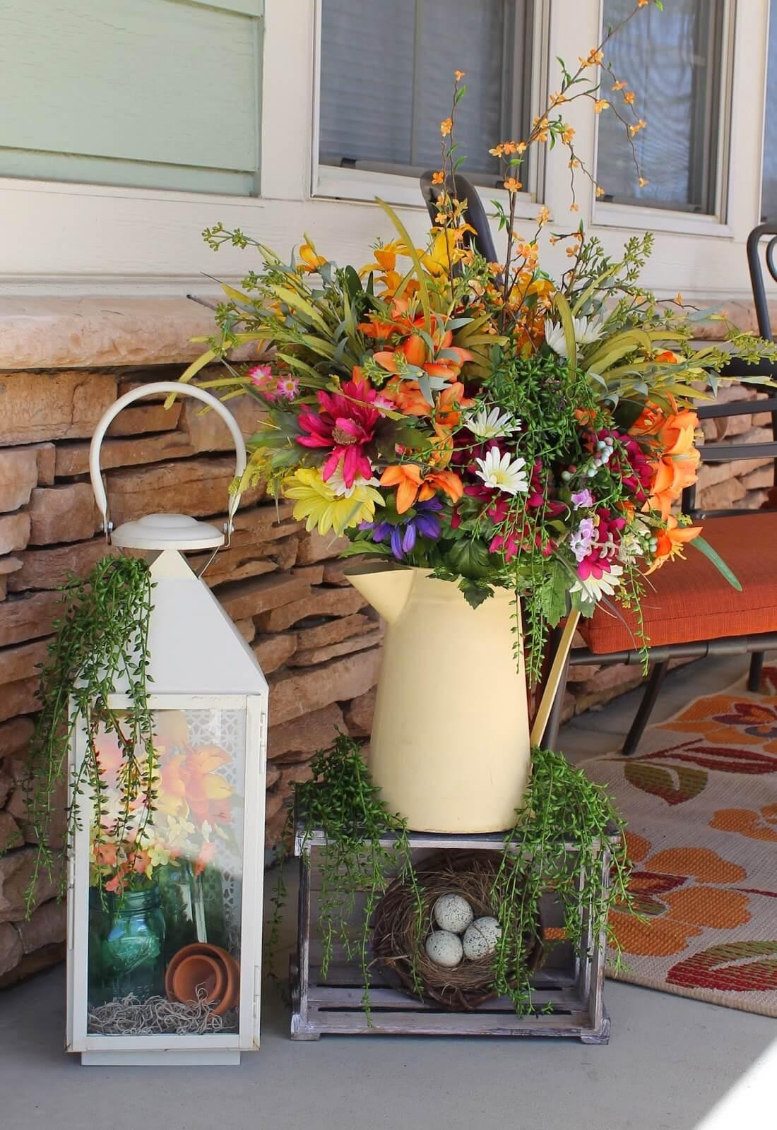 Watering Can Vase, Lantern Terrarium, Decorative Nest