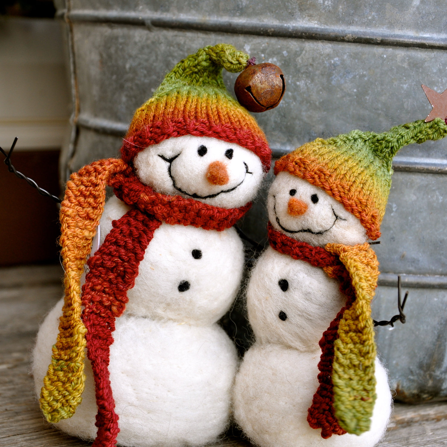Snowman Buddies Christmas Decoration