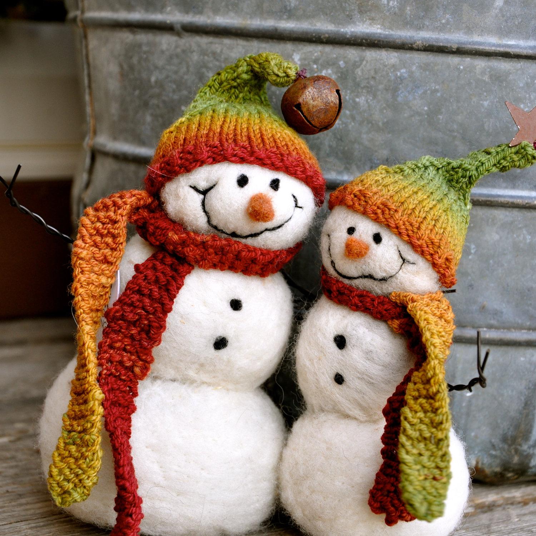 Snowman Buddies Christmas Decoration