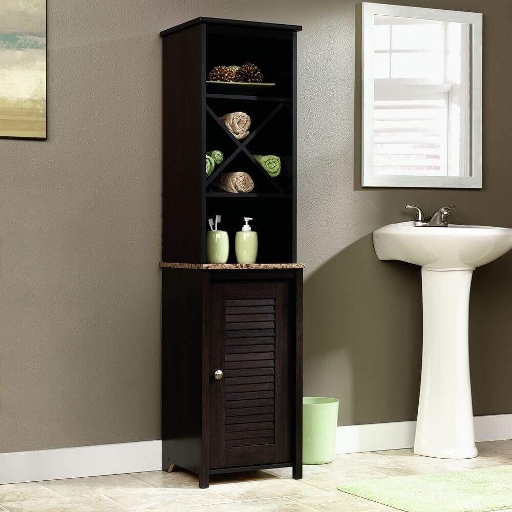 Sauder Linen Tower Bath Cabinet