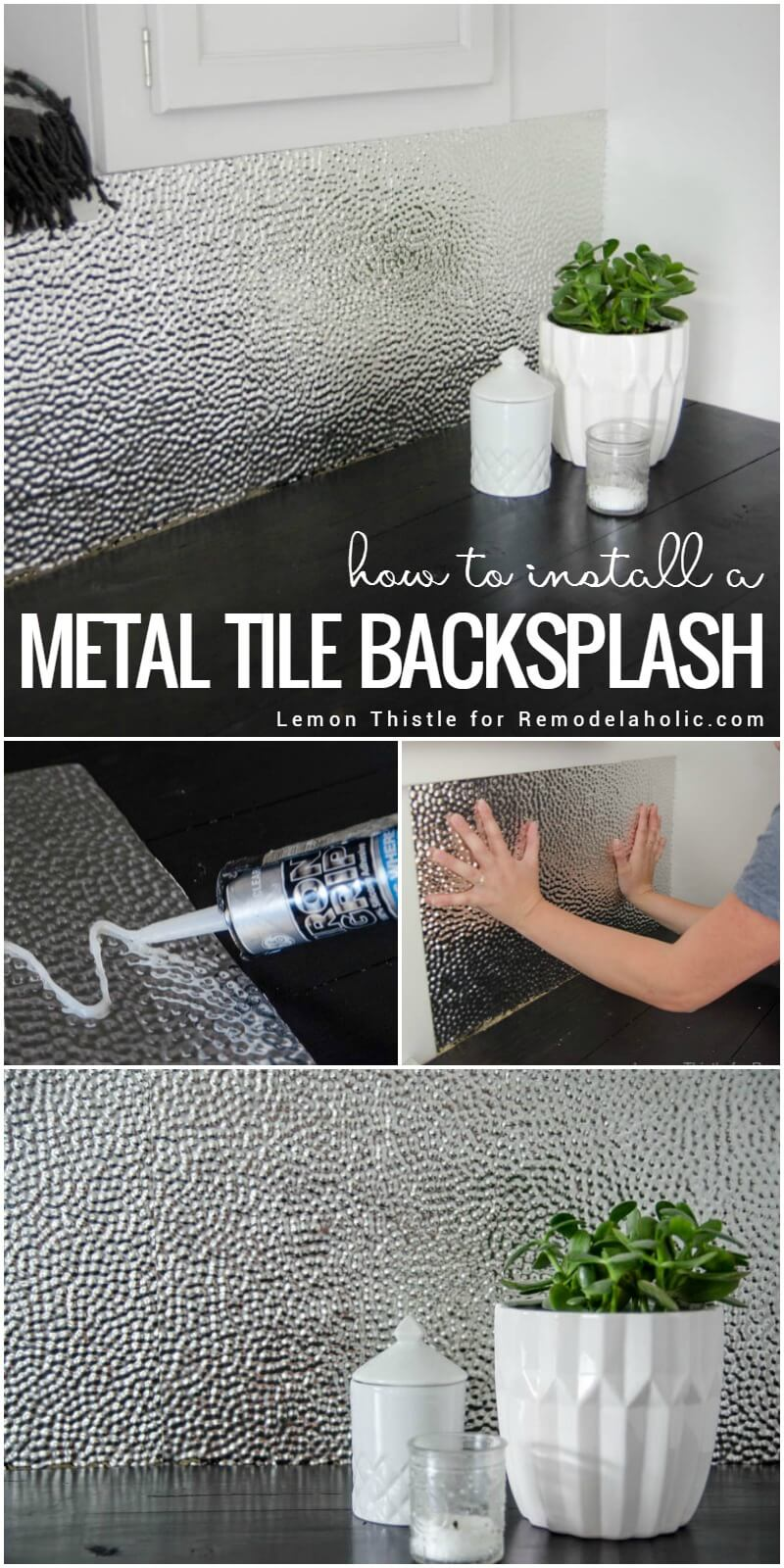 Metal Tile is Modern and Bright