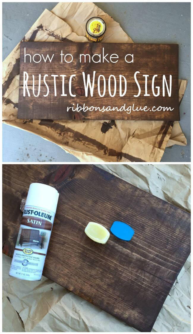 28 Fun DIY Pallet Sign Projects You Should Try | Rina Watt ...