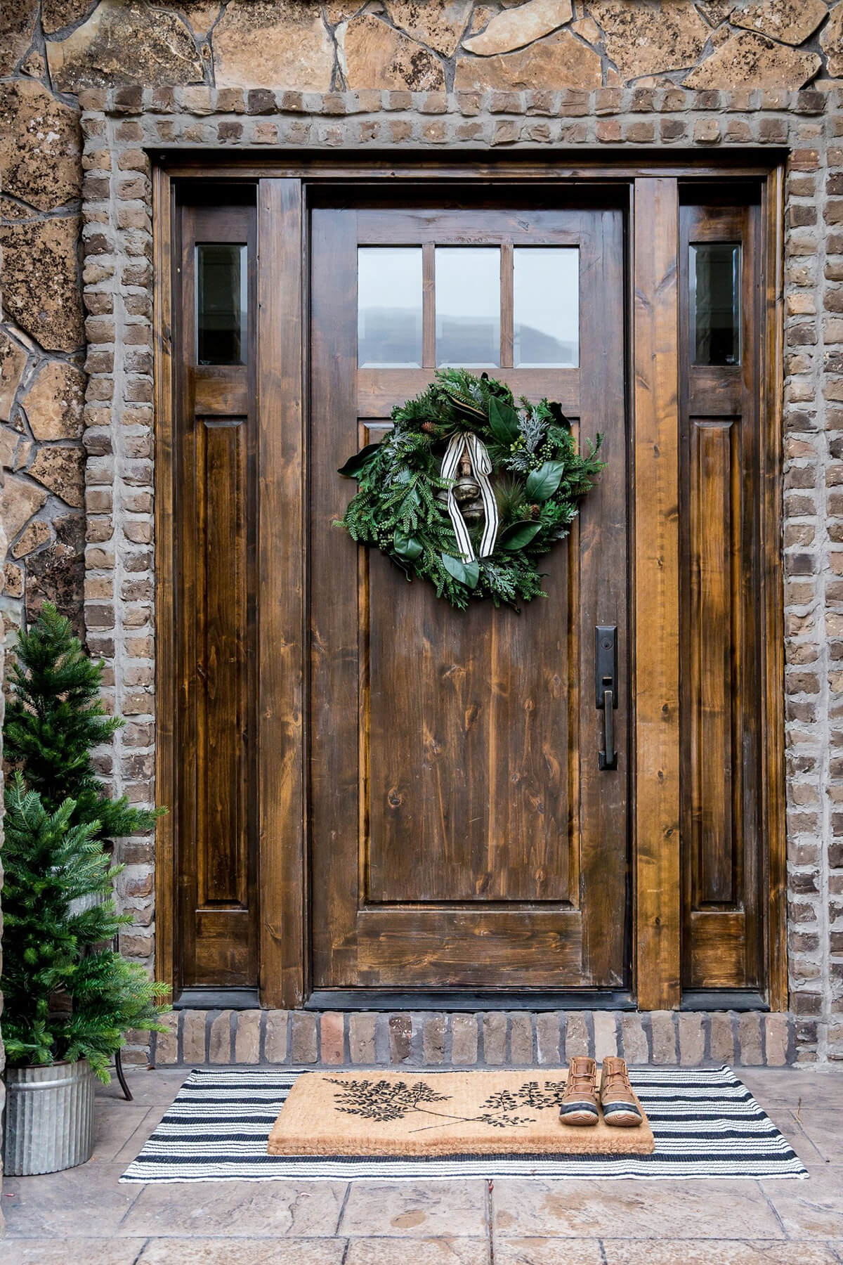 Pure Woodland Inspired Front Door