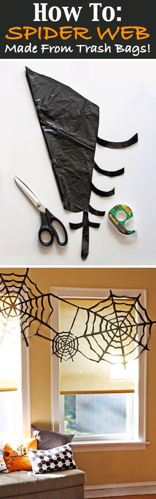 Trashy Spiderwebs