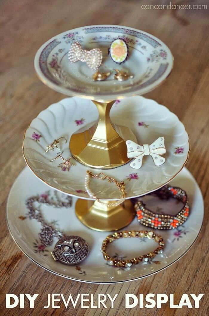 Traditional Tiered Tray Jewelry Organizer