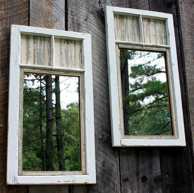 Mirror Frames Reflect Your Garden