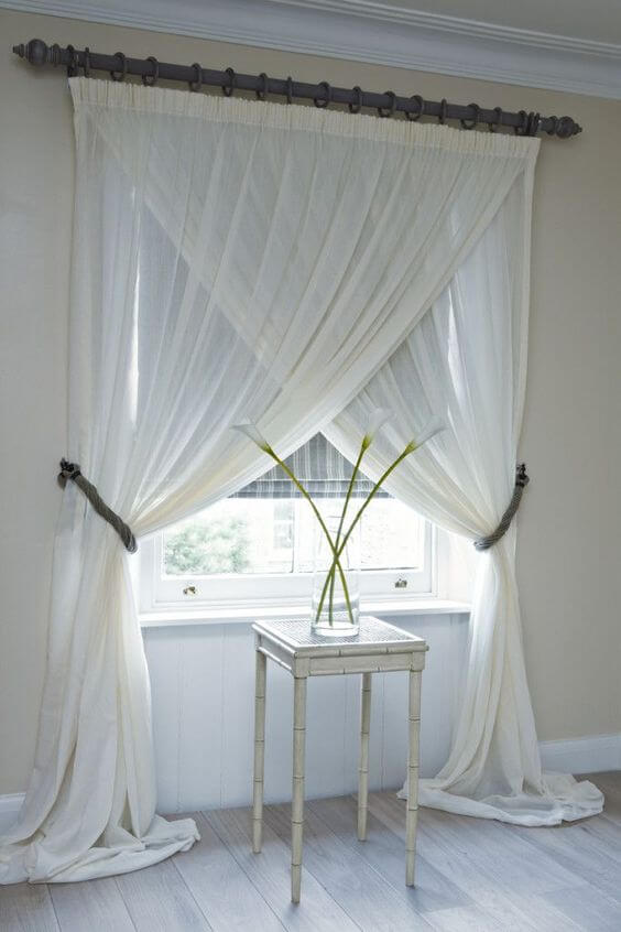 Sheer Palisade Estate Curtains