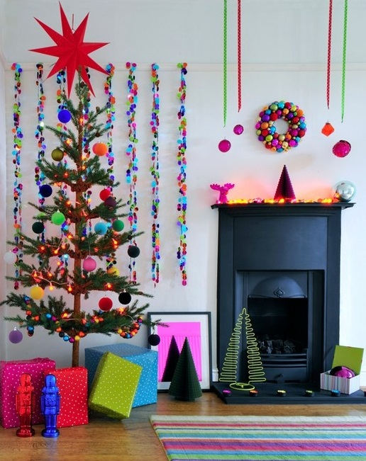 Color Pop Christmas Decor