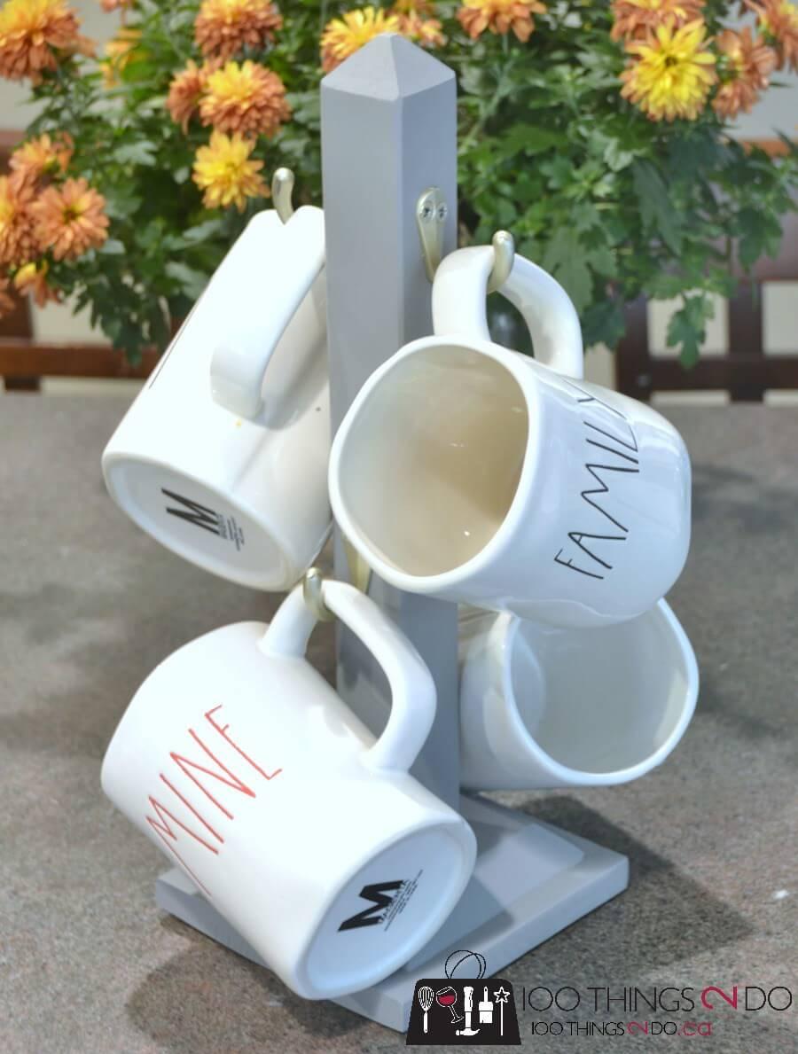 Little Pedestal Rack for Coffee Mugs
