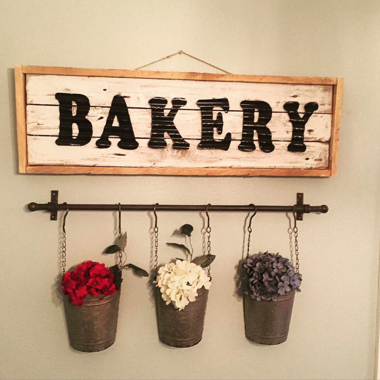 Bakery Wood Sign