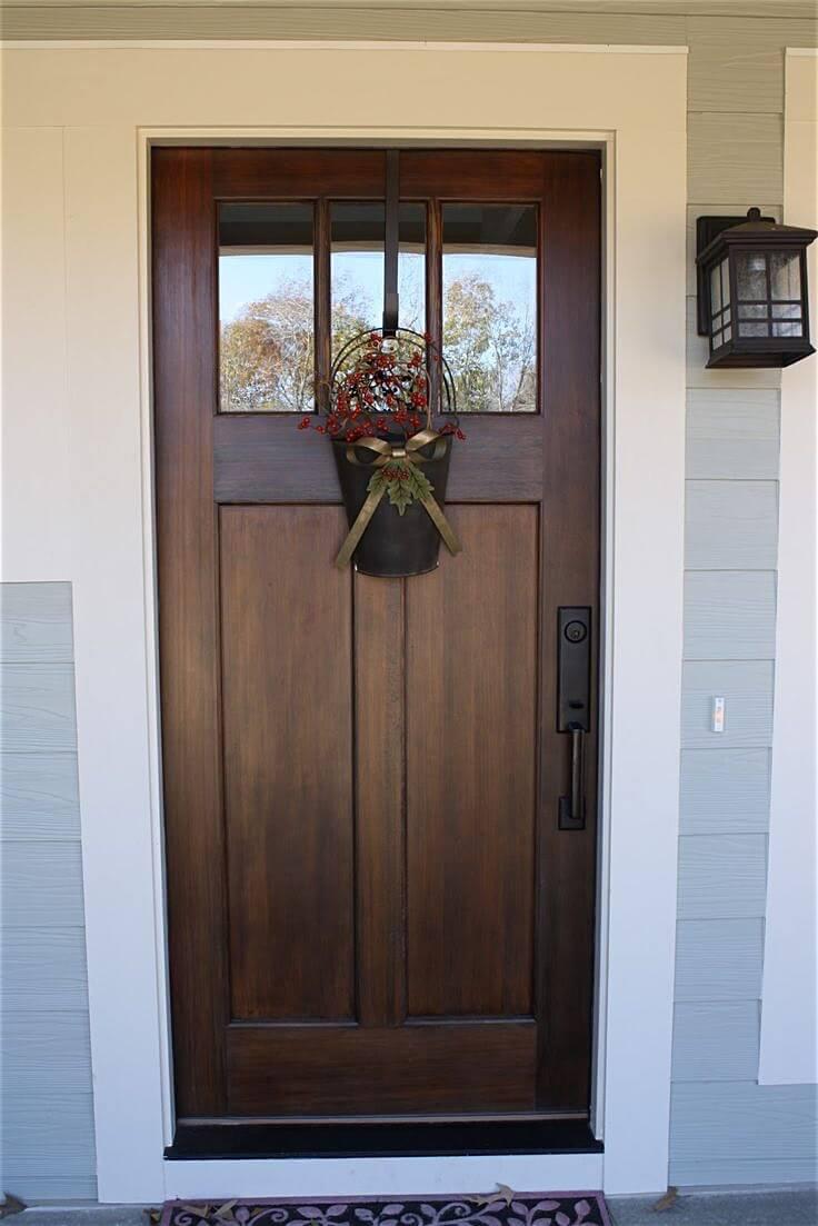 Hardwood Door Never Looked So Good