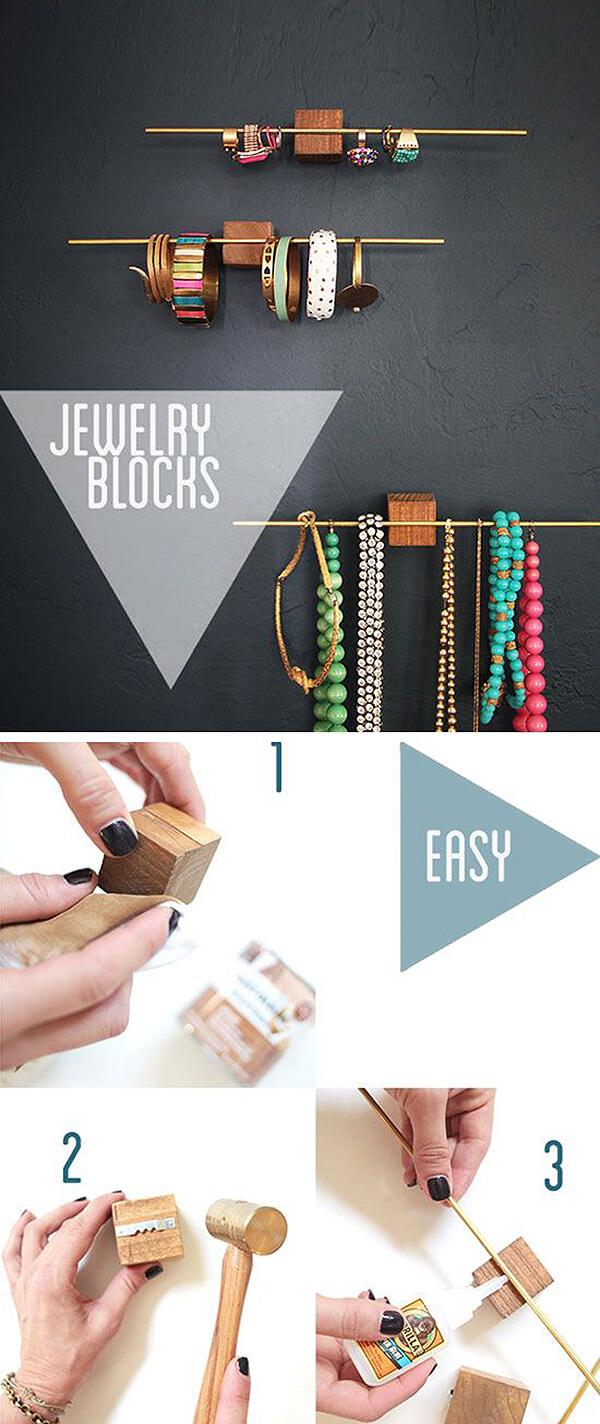 3 Step Jewelry Block Bars