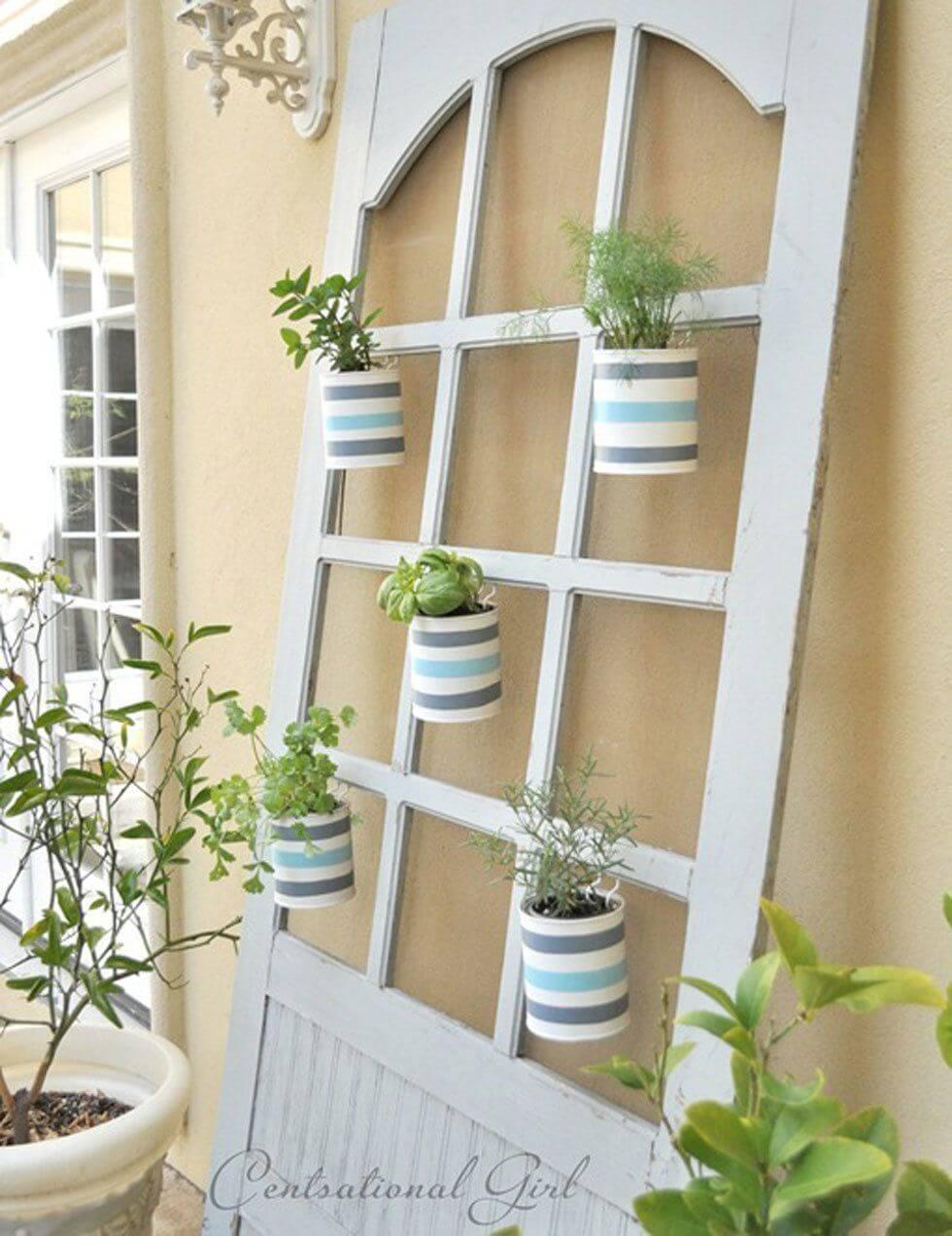 Hang Herb Pots in the Windows