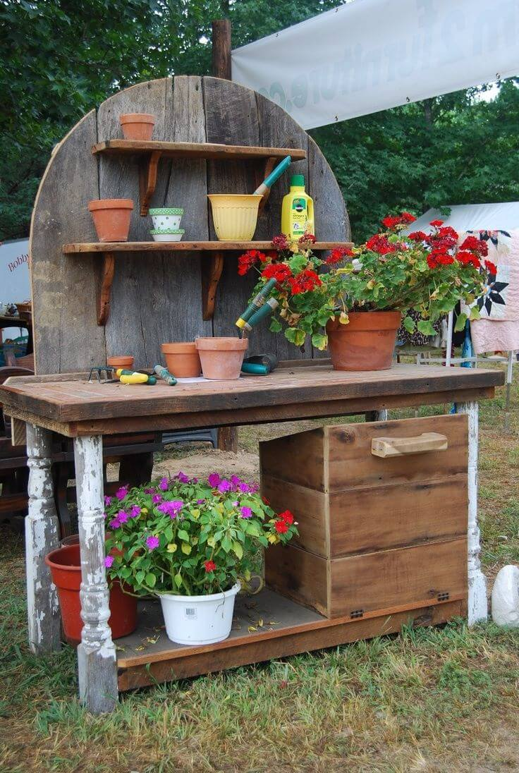 A Pieced Together Garden Center