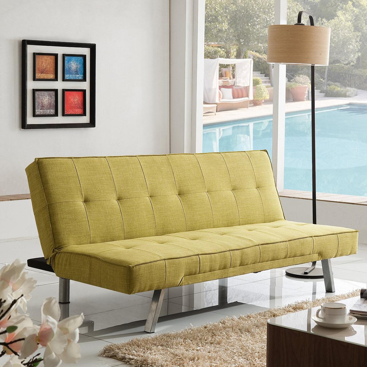Sleeper Sofa - Sleeper Sofa Bed with Stainless Steel Legs Living Room