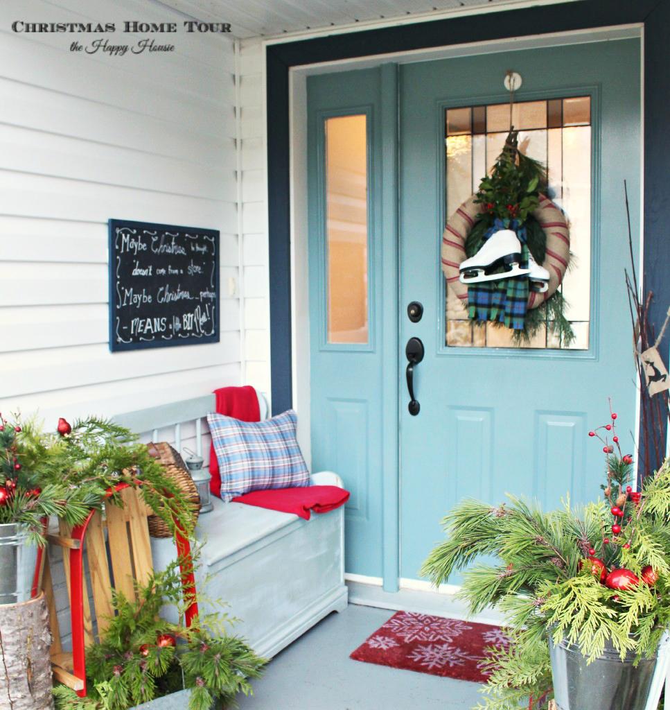Winter Garments As Holiday Decor