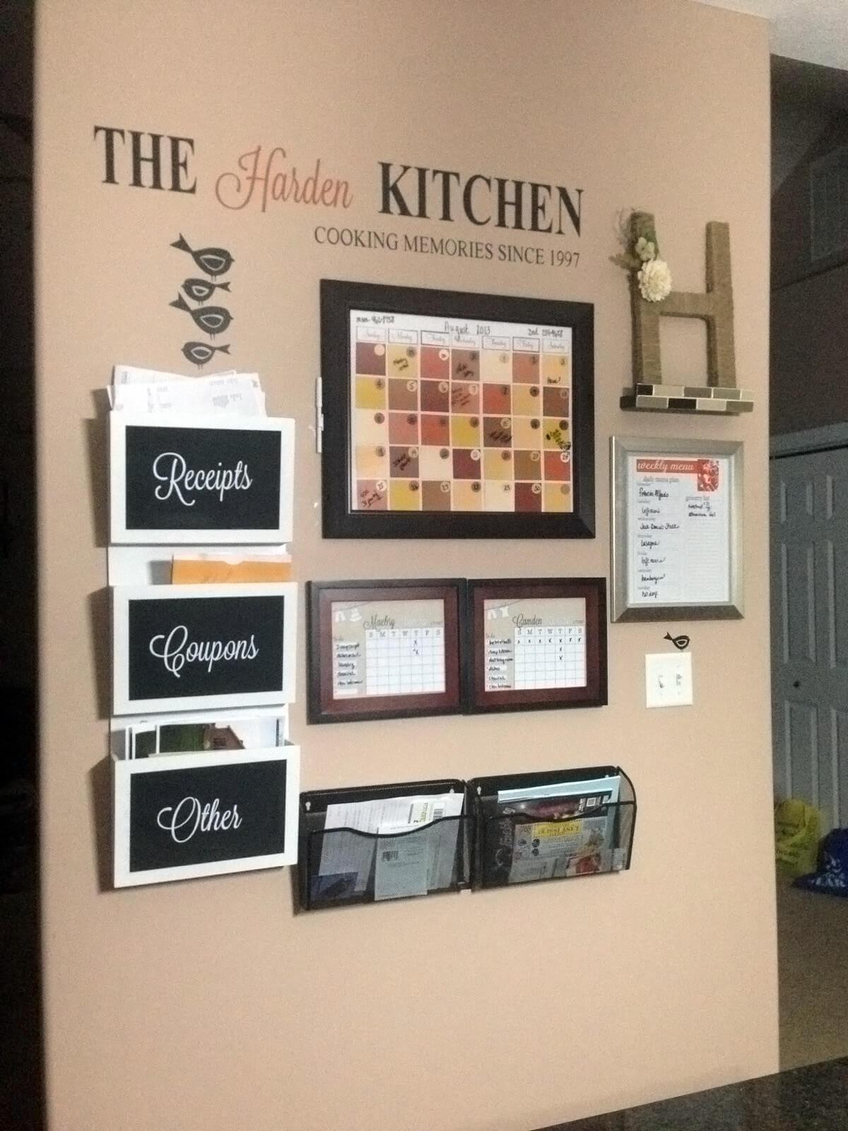 Warm, Spicy, Autumn-Inspired Kitchen Center