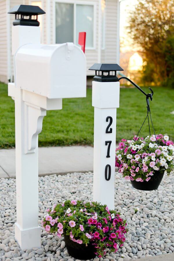 How to Pretty Up Your Mailbox