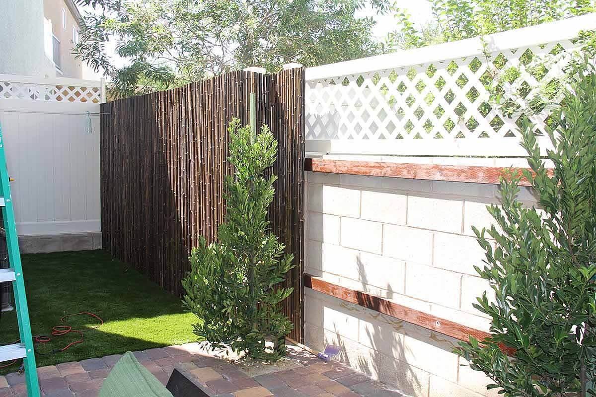 Easy Bamboo Do it Yourself Fences