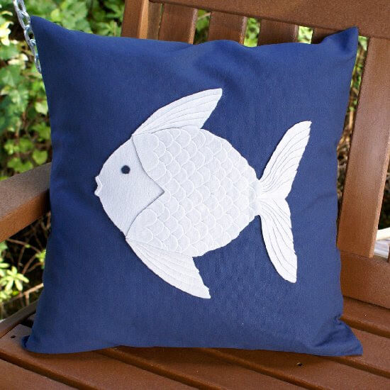 Sew This Adorable Fish Pillow