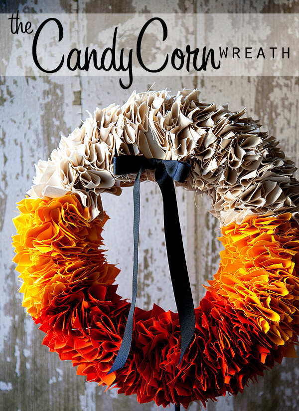 Candy Corn Colored Ruffles