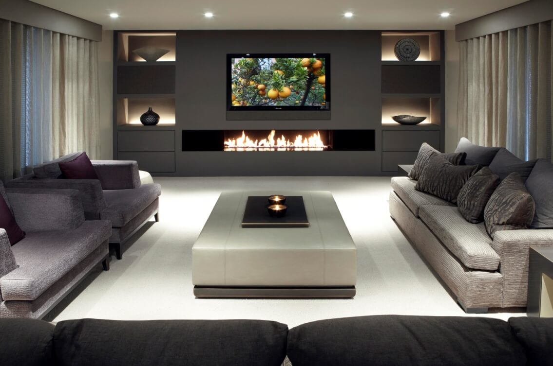 Everything in Place Moder Living Room