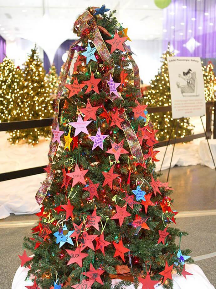 DIY Paper Star Ornament Decor