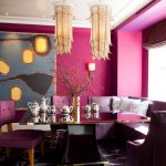 11-perfectly-pink-and-purple-breakfast-nook-idea-homebnc