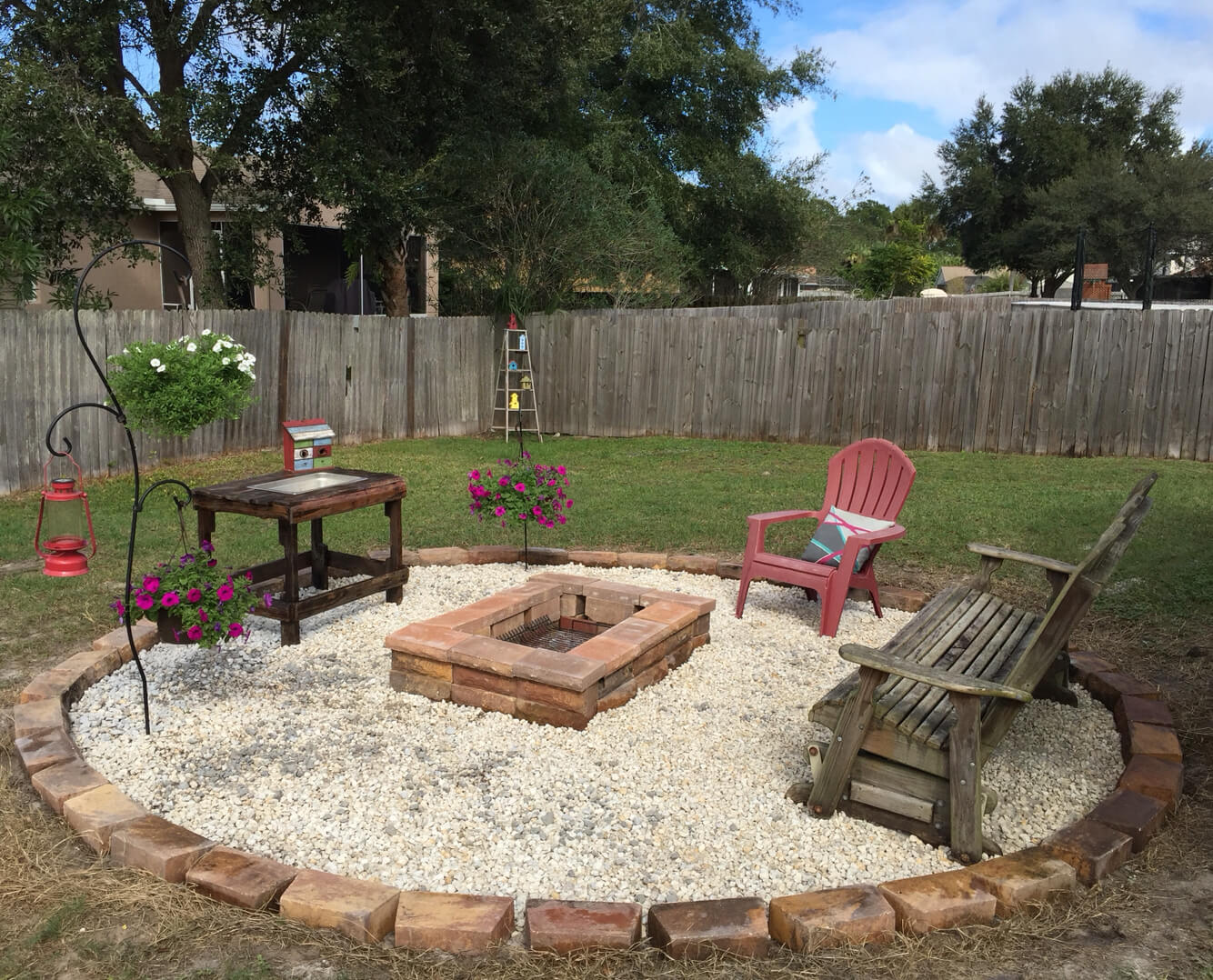 A Stone Grilling Pit for your Backyard
