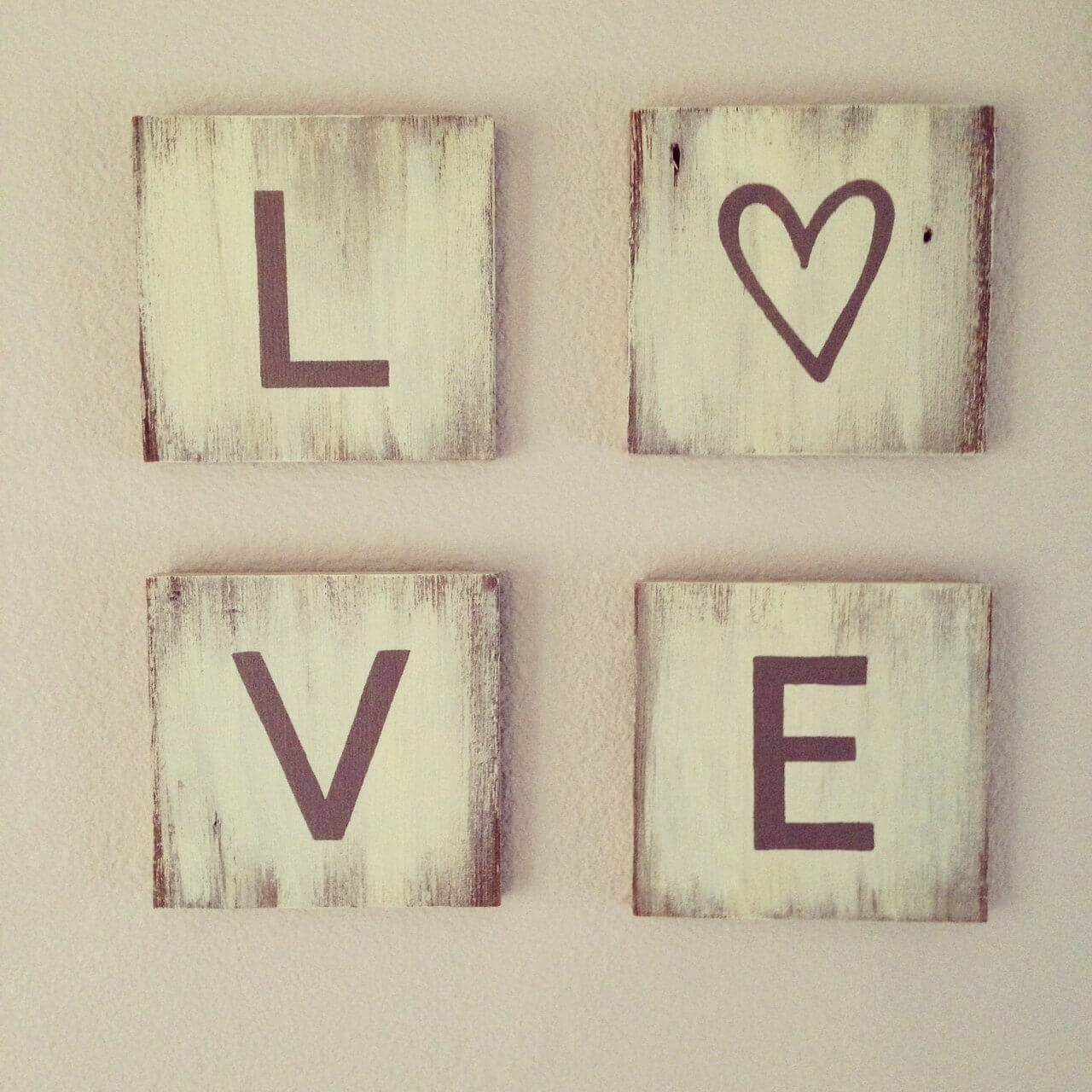 Sweet and Simple L-O-V-E Blocks
